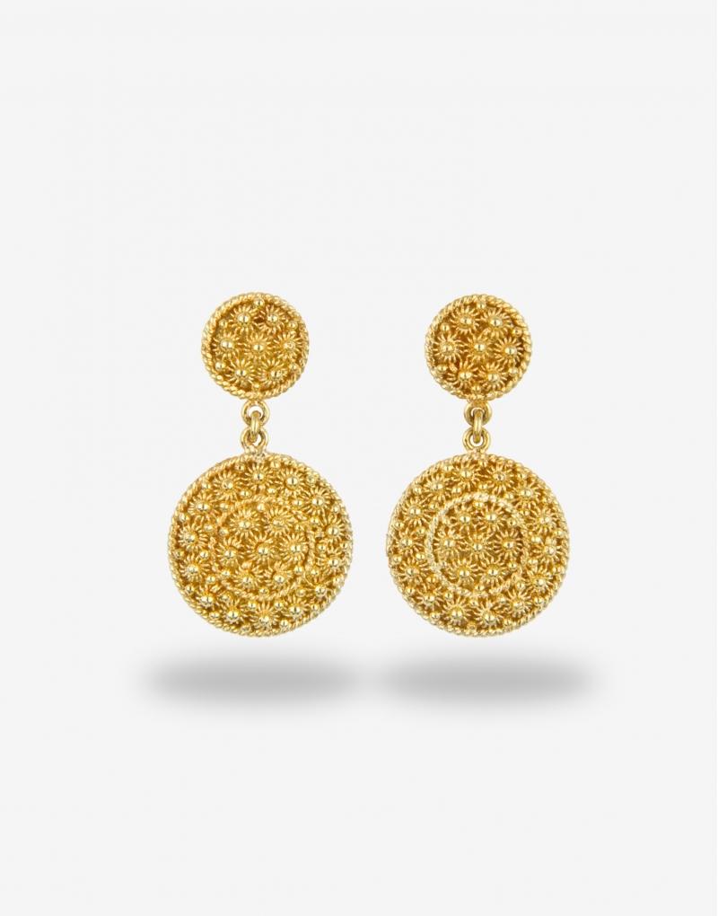 Fedele pendente earrings