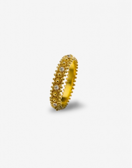 Fedelino diamonds ring