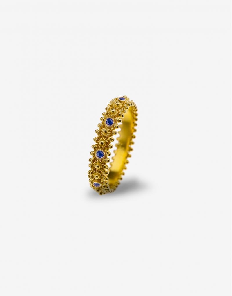 Fedelino sapphire ring