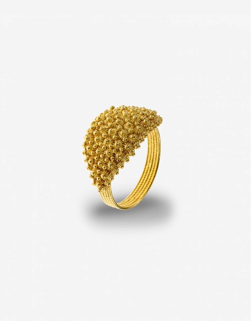 Fede sarda five lines ring
