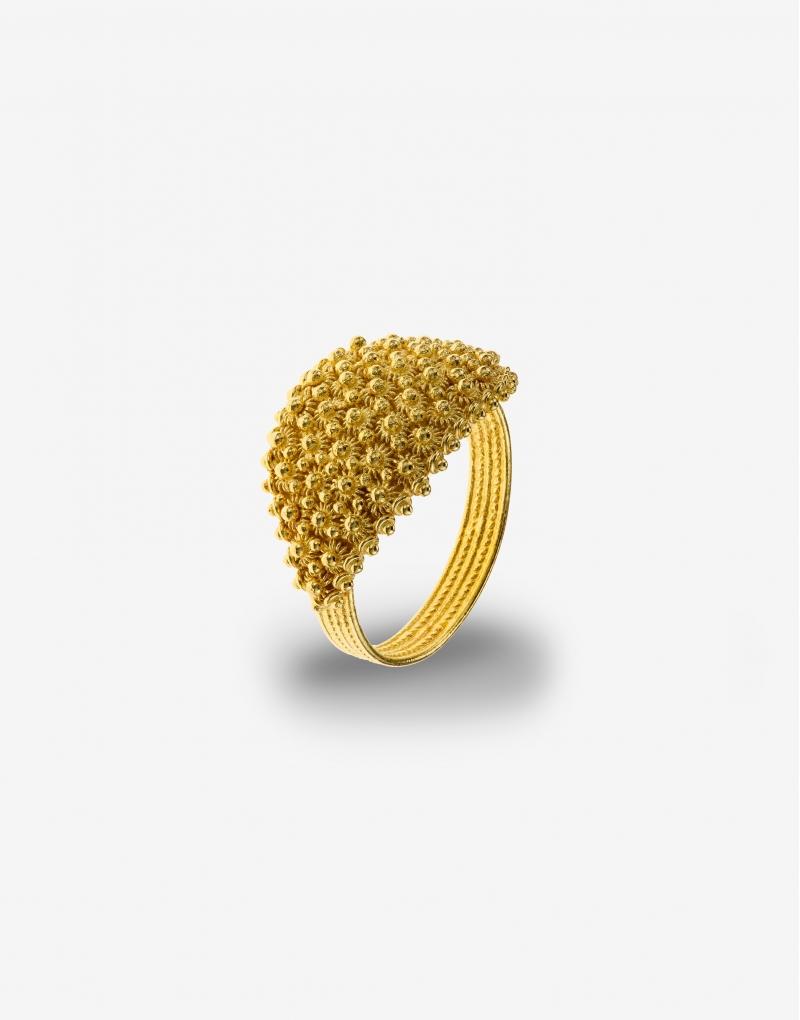 Fede sarda five lines ring