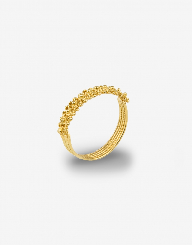 Fede sarda one line ring