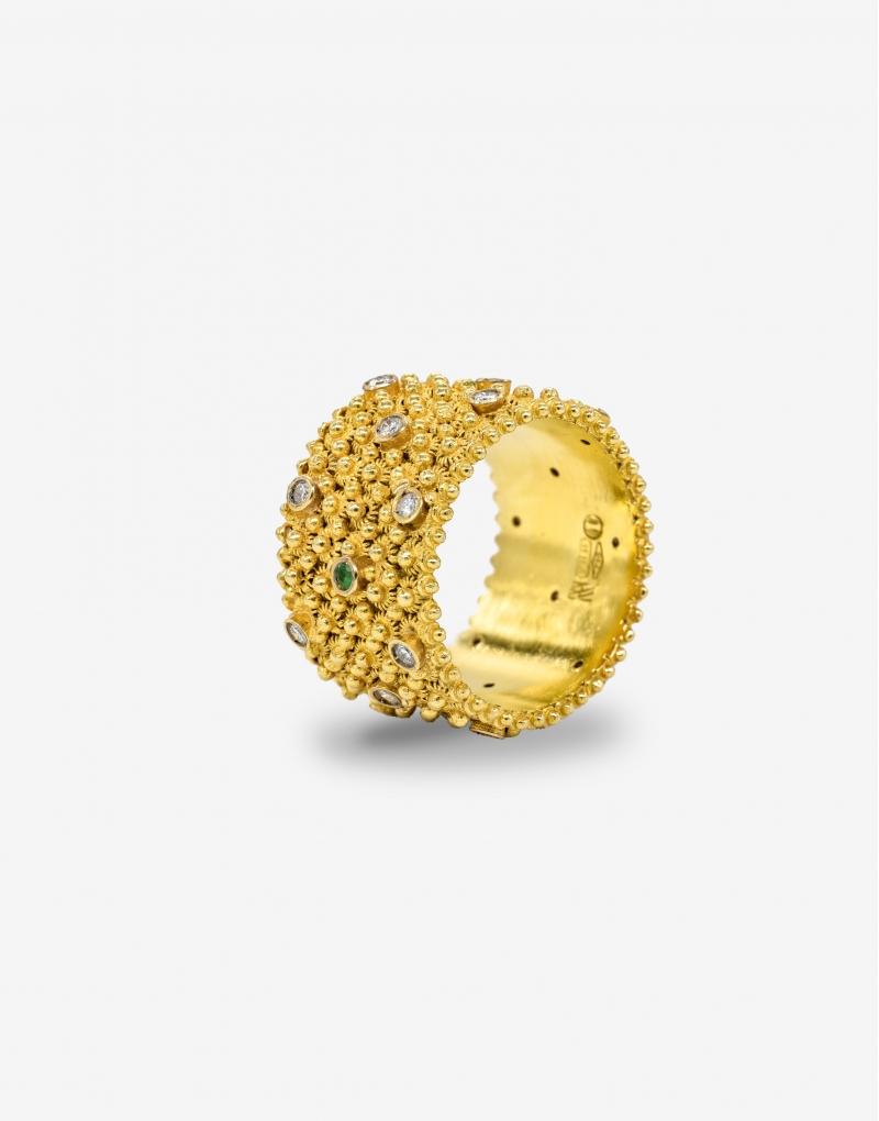 Fedele cinque diamonds ring