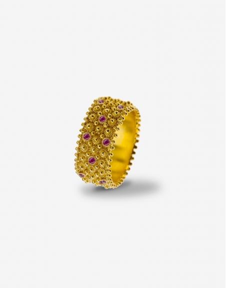 Fedele rubies ring