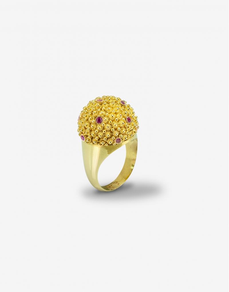 Fedele cupolina ruby ring