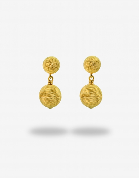 Corbula sfere dieci earrings