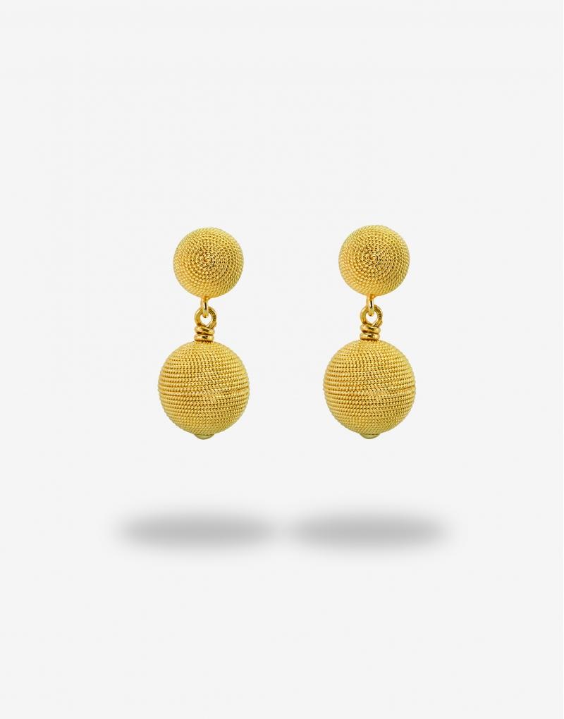 Corbula sfere dieci earrings