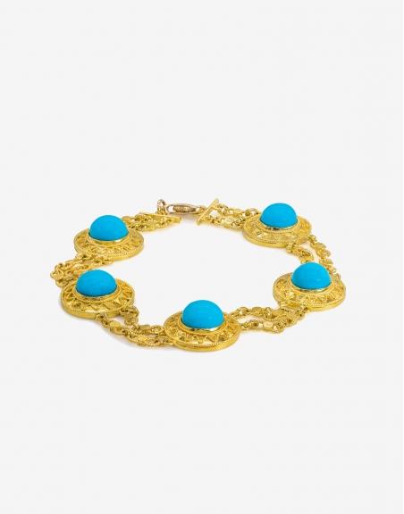 Turchese cinque bracelet