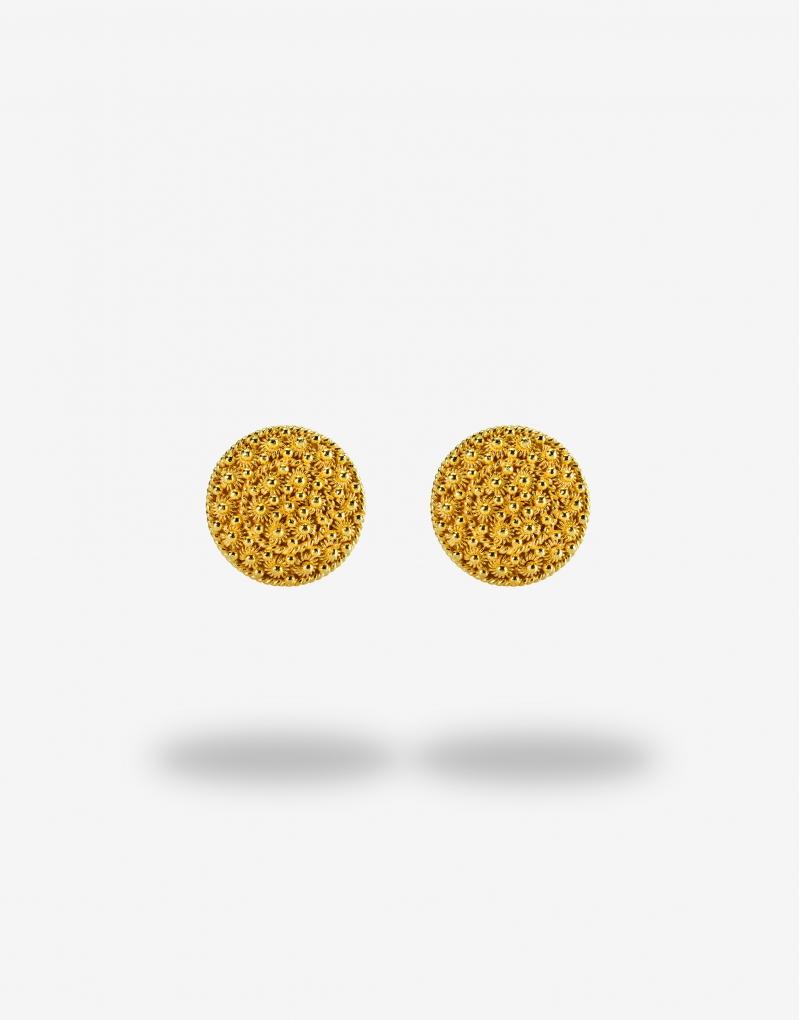Fedele quattordici lobo earrings