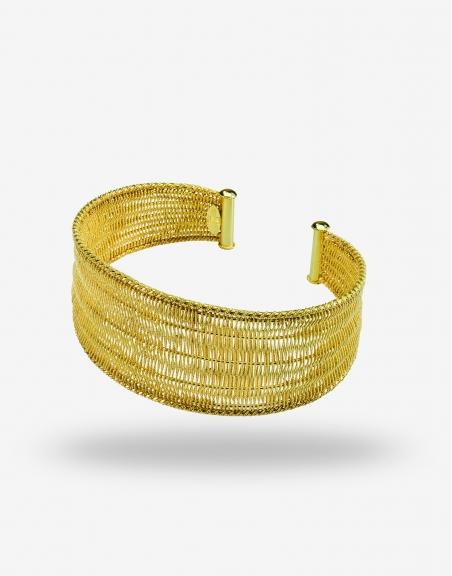 Tessuto medio bracelet